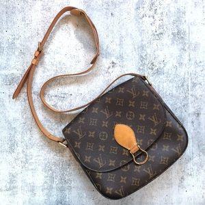 Louis Vuitton Saint St Cloud GM Crossbody Handbag